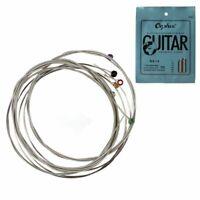 Orphee 6pcs / ensembleJeu de cordes de guitare electrique Chaine en alliag X8W1