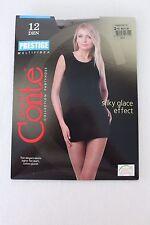 "CONTE Pantyhose (5'0""-5'8"" 110-150 lbs) 12 Den Silky Glace Effect Mocca 2"