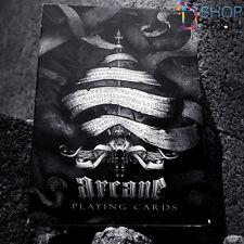 ELLUSIONIST ARCANE BLACK BICYCLE PLAYING CARDS DECK MAGIC TRICKS USPCC SEALED