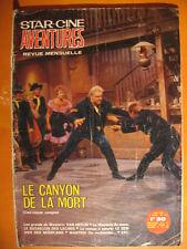 Star-Ciné Aventures 179-Le canyon de la mort -Romans-Film Roman Western DL 1966