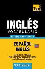 Vocabulario Español-Inglés Americano - 3000 Palabras Más Usadas by Andrey...