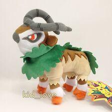 "Pokemon XY Plush Gogoat #673 Goats Soft Toy Stuffed Animal Cuddly Doll Teddy 7"""