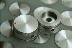 1pcs 30mm x 16mm SOLID Aluminum AMPLIFIER ROTARY VOLUME BASS MID KNOB SCREW SET