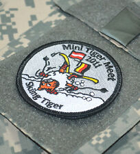 NATO TIGER ASSOCIATION TIGER MEET COLLECTION: NTM 2011 Skiing Tiger Velcro Patch