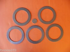 CLUTCH STEELS / SPACER DISCS FWD SETof 5 for BW 35 40 51 65 66 AUTO TRANSMISSION
