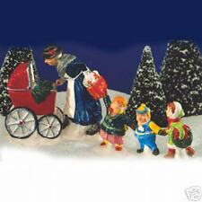 Dept 56 Snow Village Nanny & The Preschoolers Nib 54305