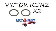 NEW BMW E39 E53 VICTOR REINZ SET OF 2 O-Ring For Oil Cooler Line 11 42 1 702 905