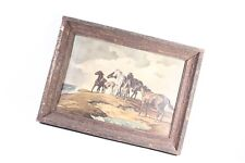 Very Nice Old Picture Frames with Picture Wood Frame Horses