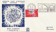 FRANCE FDC - 898 1803 5 SURREGENERATEUR PHENIX flamme 21 9 1974 - LUXE