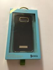 Kate Spade Wrap Hard Snap Case  Samsung Galaxy S8+ Plus Saffiano Black