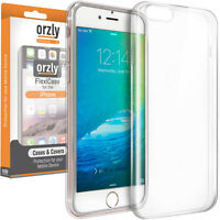 TPU Gel Case Cover for iPhone 5 , SE , 6S , 7, 8  - Flexicases By Orzly