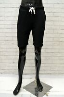 Bermuda Uomo TERRANOVA Taglia S Jeans Pantaloncino Pantalone Shorts Pants Nero