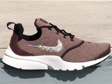 Crystal Nike Presto Fly SE Port Wine MTLC Glitzer mit Swarovski Elements Gr. 40