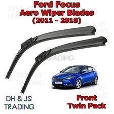 (11-18) Ford Focus Aero Wiper Blades / Front Flat Blade Wipers MK3 Estate Saloon