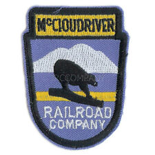 Patch-  McCloud River Railroad (MCR)  #11193  -NEW-Free Shipping