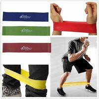 3PCS Tension Resistance Band Exercise Loop Crossfit Strength Weight Training I2