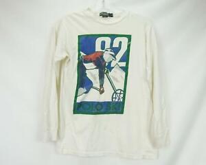 Vintage Polo Ski 92 Ralph Lauren T-Shirt Long Sleeve Mens M