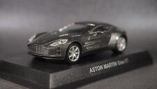 kyosho 1/64 ASTON MARTIN minicar collection One-77 Gray new