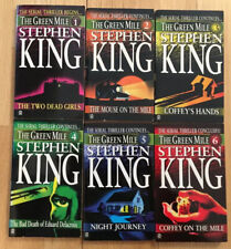 Stephen King The Green Mile 1996 Signet 1 - 6 Complete 2 - 6 Are 1St Printings