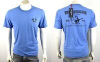 True Religion Brand Jeans Men's Metallic Puff Buddha Logo T-Shirt Top - 100434