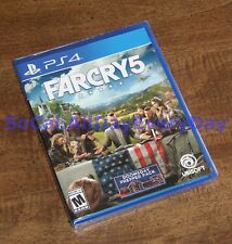 Far Cry 5 Day 1 One Edition w/ Doomsday Prepper Pack PlayStation 4 BRAND NEW ps4
