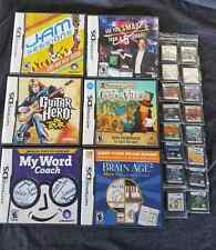 Nintendo DS Game Lot (22 Games)