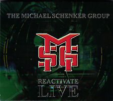 The Michael Schenker Group MSG - Reactivate Live 1980 Double CD Slipcase