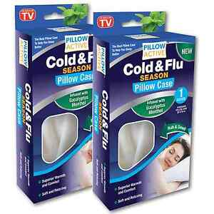 Pillow Active Cold & Flu Season Pillow case - Buy One Get One Free!