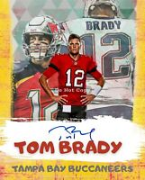 Tom Brady, TB Buccaneers  8x10 Cracked Ice Wall Art - Limited Edition. 16pt pt