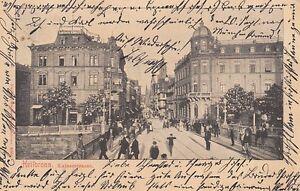 Ansichtskarte Baden Württemberg Heilbronn Kaiserstrasse 1902