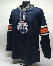 Adidas Women's Edmonton Oilers Platinum Crewdie Hoodie Sweatshirt Sz XL NHL Q1