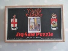 VINTAGE CHAD VALLEY GWR JIGSAW PUZZLE A CORNISH FISHING VILLAGE COMPLETE