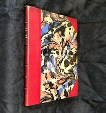 """Rare Limited Edition FRANS MASEREEL Book With 9 Original Woodcuts """"Die Mutter"""""""