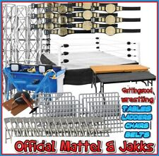 Official WWE MATTEL JAKKS Wrestling Accessories Belts & Rings - Your Choice Toy