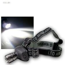 Lampe frontale avec réglable 1w CREE LED HighPower 4 leuchtfunktionen