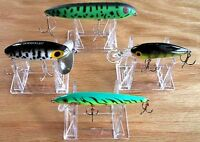 "~15 Fishing Lure 2"" Display Stand Easels Holders"