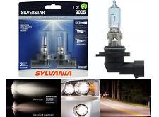 Sylvania Silverstar 9005 HB3 65W Two Bulbs Head Light High Beam Replace Lamp OE