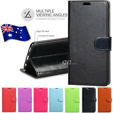 Premium Leather Wallet Flip PU Case Cover For Motorola Moto G6 G6 Plus Play E5