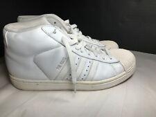 Adidas PRO MODEL ART # 676922 WHITE. LEATHER MEN'S US Size 6.5 USED