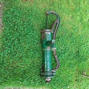 vintage cast iron garden water pump