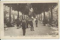 CPA 03 - VICHY - La grande Allée du parc du Casino vu du palais des Sources