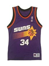 Vintage Champion Phoenix Suns Charles Barkley NBA Basketball Jersey Mens Size 36
