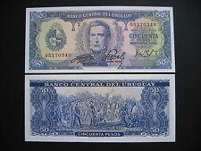 Uruguay 50 pesos 1967 (p46a) UNC