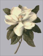 """""""Southern Magnolia""""  Cross Stitch Pattern"""