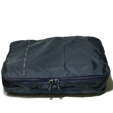 "NEW Ferragamo Navy Blue Large Packing Cube 20.5"" Storage Bag Luggage Organizer"
