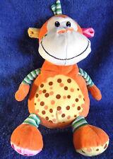 *1809c*  Monkey - colourful - Frogie toys - plush - 25cm