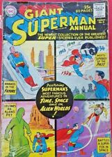 Superman 4 Giant Annual DC Silver Age 1961 very scarce