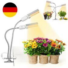 LED Pflanzenlampe Vollspektrum Wachstumslampe Pflanzenlicht Dimmbar mit Timing