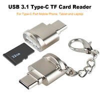 Reader OTG Adapter USB 3.1 Type C TF Micro SD Card For Samsung Huawei MacBook