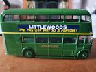 SOLIDO 1:50 SCALE AEC RT DOUBLE DECKER LONDON COUNTRY WITH DECALS BRYMAY - BOXED